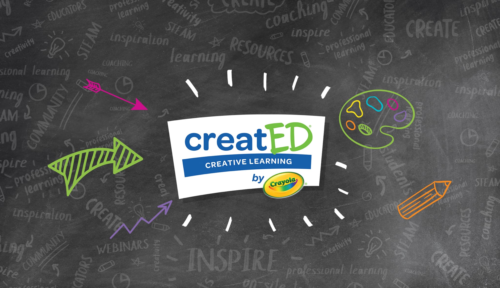 Crayola CreatED Campaign Support