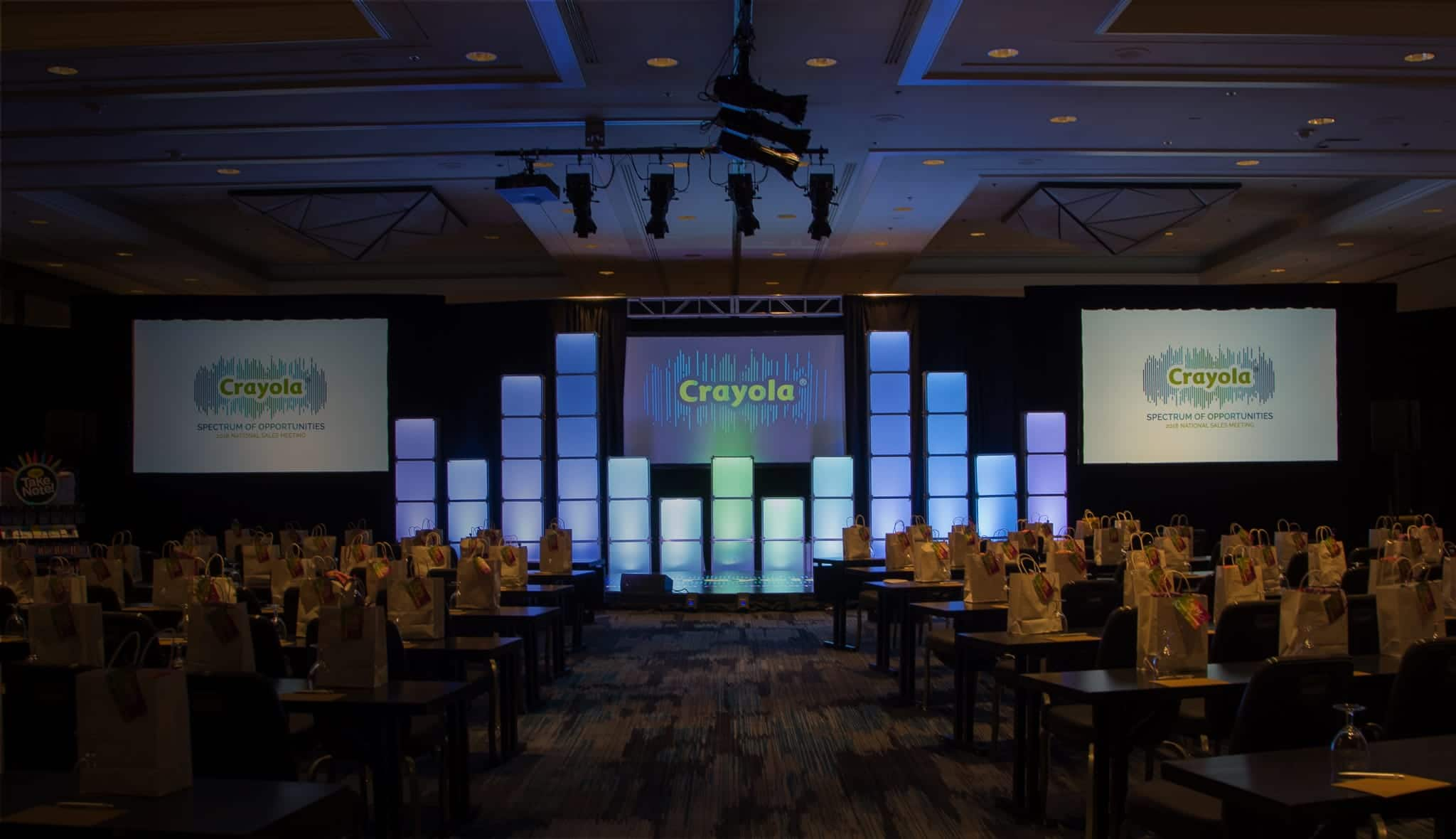 Crayola Spectrum Of Opportunities Sales Meeting